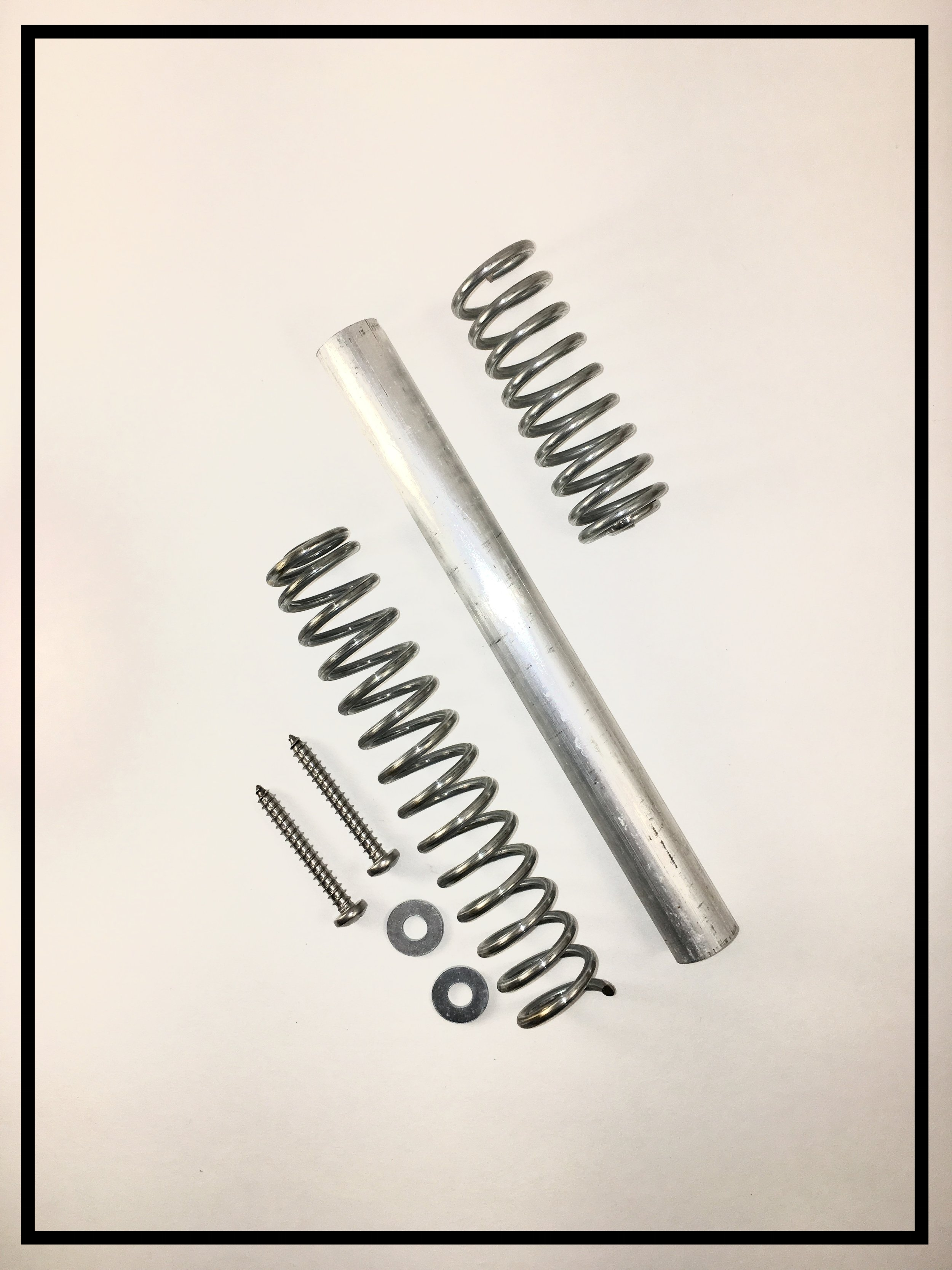 Newel Post-to-Deck Spring Bolt™ System Kit (Exterior), HL Series Kit #42
